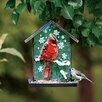 Evergreen Enterprises, Inc Winter Cardinal Bird Feeder