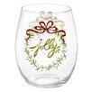 Three Posts Bradner Festive Foliage 20 Oz. Stemless Wine Glass