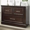 Parker House Furniture Stanford Library 2-Drawer Lateral File