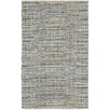 LR Resources Natural Fiber Navy Area Rug