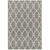 LR Resources Adana Woven Gray Area Rug