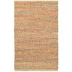 LR Resources Accent Orange Area Rug