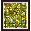 Global Gallery Trumpet Vine by Tiffany Studios Framed Painting Print