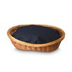 Snoozer Pet Products Wicker Dog Basket and Bed