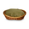 Snoozer Pet Products Luxury Wicker Dog Basket and Bed