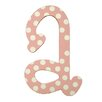 My Baby Sam Polka Dot Letter Hanging Initial