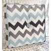 My Baby Sam Chevron Baby Cotton Throw Pillow