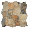 "EliteTile Seville 12.25"" x 12.25"" Porcelain Splitface Tile in Multi"
