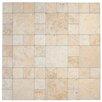 EliteTile Globe Porcelain Mosaic Tile in Beige