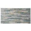 "EliteTile Muro Arriba 12.5"" x 24.5"" Porcelain Field Tile in Grey"