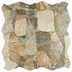 """EliteTile Atticas 17.75"""" x 17.75"""" Ceramic Field Tile in Gris"""