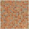 """EliteTile Arcadia 0.563"""" x 0.563"""" Porcelain Mosaic Tile in Tundra Beige"""