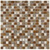 "EliteTile Isle 0.625"" x 0.625"" Porcelain Mosaic Tile in Avalonia"
