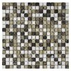 "EliteTile Grizelda Mini 0.625"" x 0.625"" Natural Stone Mosaic Tile in Sand"
