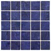 EliteTile Utopia Porcelain Mosaic Tile in Blue