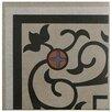 """EliteTile Cementa 7"""" x 7"""" Ceramic Glazed Tile in And Esquina"""