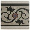 """EliteTile Cementa 7"""" x 7"""" Ceramic Glazed Tile in And Cenefa"""