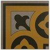 """EliteTile Cementa 7"""" x 7"""" Ceramic Glazed Tile in Cla Esquina"""