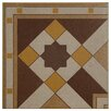 "EliteTile Cementa 7"" x 7"" Ceramic Glazed Tile in Geo Esquina"