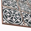 """EliteTile Faventie Nero 13"""" x 13"""" Ceramic Field Tile in Black"""