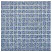 "EliteTile Pool 1"" x 1"" Porcelain Mosaic Tile in Catalan"