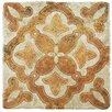 """EliteTile Diego 7.75"""" x 7.75"""" Ceramic Field Tile in Beige and Brown"""