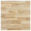 "EliteTile Prospero 17.75"" x 17.75"" Ceramic Wood Tile in Haya"