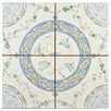"""EliteTile Tudor 13"""" x 13"""" Ceramic Field Tile in Rian"""