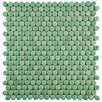 EliteTile Tucana Porcelain Mosaic Tile in Green