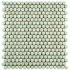 EliteTile Tucana Porcelain Mosaic Tile in Mint