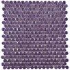EliteTile Tucana Porcelain Mosaic Tile in Purple