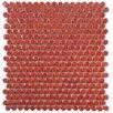 EliteTile Tucana Porcelain Mosaic Tile in Red