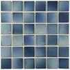 EliteTile Arthur Porcelain Mosaic Tile in Blue