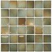 """EliteTile Arthur 2"""" x 2"""" Porcelain Mosaic Tile in Delta"""