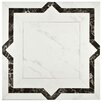 "EliteTile Noble 17.75"" x 17.75"" Ceramic Field Tile in Gris"