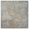 "EliteTile Skabos 14.19"" x 14.19"" Porcelain Floor and Wall Tile in Gray"