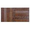 "EliteTile Loggo 2"" x 10"" Porcelain Mosaic Tile in Brown"