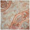 "EliteTile Tanja 19.75"" x 19.75"" Ceramic Floor and Wall Tile in Red"