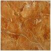 """EliteTile Playa 12.5"""" x 12.5"""" Ceramic Floor and Wall Tile in Brown"""