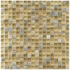 """EliteTile Sierra 0.625"""" x 0.625"""" Glass and Natural Stone Mosaic Tile in Suffolk"""