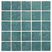 EliteTile Utopia Porcelain Mosaic Tile in Green