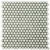 "EliteTile Astraea 12"" x 12"" Porcelain Mosaic Tile in White"