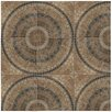 "EliteTile Tierra 17.75"" x 17.75"" Ceramic Field Tile in Beige"