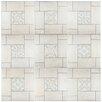 """EliteTile Hokkaido 19.75"""" x 19.75"""" Ceramic Field Tile in Nordico"""