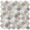 "EliteTile Imagino 17.75"" x 17.75"" Ceramic Field Tile in Cement"