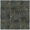 """EliteTile Valens 17.75"""" x 17.75"""" Ceramic Field Tile in Nero"""