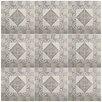 """EliteTile Denarius 20.25"""" x 20.25"""" Ceramic Field Tile in Beige"""