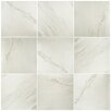 "EliteTile Valens 17.75"" x 17.75"" Ceramic Field Tile in Blanco"