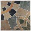 "EliteTile Cartamo 17.75"" x 17.75"" Ceramic Field Tile in Azul"