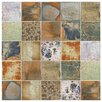 """EliteTile Honesty 7.75"""" x 7.75"""" Porcelain Field Tile in Glossy"""